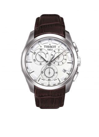 Tissot Horloge Couturier T0356171603100 (Bruin)