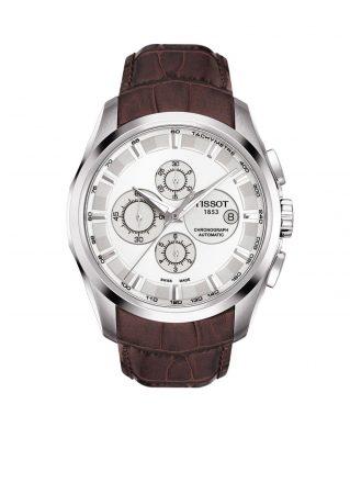Tissot Horloge Couturier T0356271603100 (Bruin)