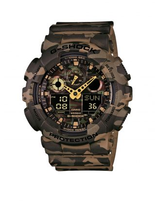 G-Shock Horloge Camouflage GA-100CM-5AER (Camouflage)