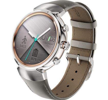Asus smartwatch Zenwatch 3 Silver/Beige