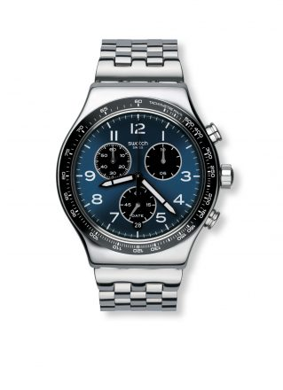 Swatch Herenhorloge Boxengasse YVS423G (Roestvrijstaal)