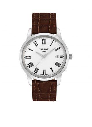 Tissot Horloge Classic Dream T0334101601301 (Donkerbruin)