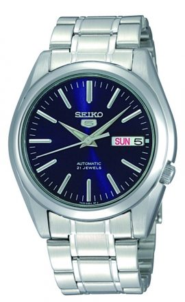 Seiko Herenhorloge Automaat Blauwe wijzerplaat SNKL43K1