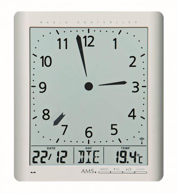 AMS 5898 Klok Radio-controlled Digitaal/Temperatuur